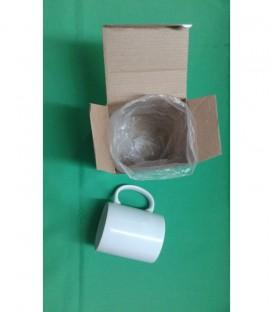 Taza para Sublimar blanca con caja 11Oz